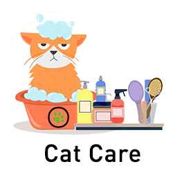 Natural Hygiene Products for Cats