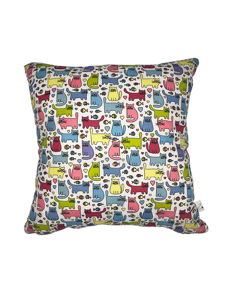 colored cushion