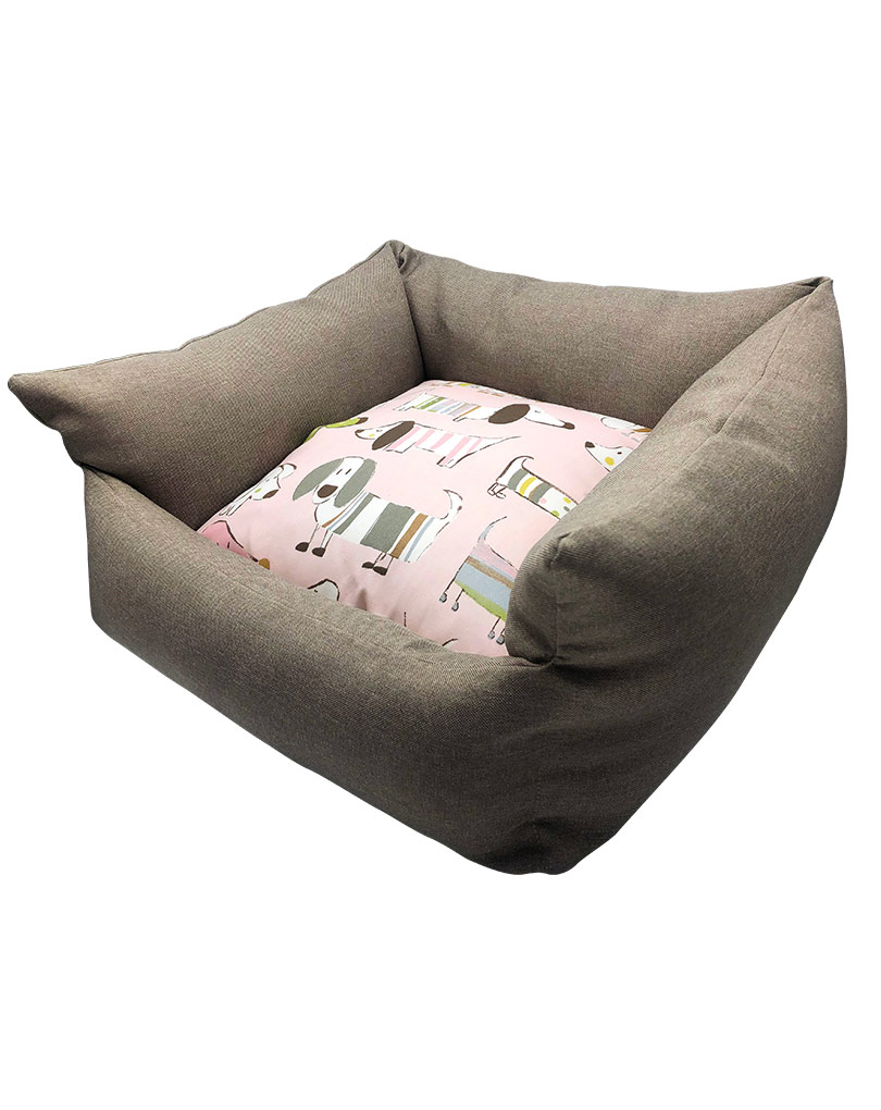 gray bed – pink cushion 02